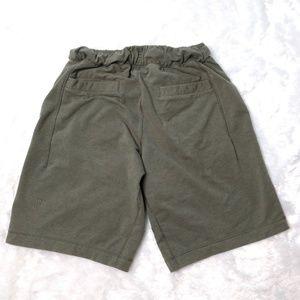 Men's Lululemon Performance Sweat Shorts Army Gr